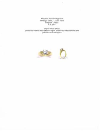 kimberley jewellery appraisal detailed sample appraisal